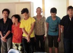 Cảnh sát đột kích sào huyệt của hơn 40 tên cướp