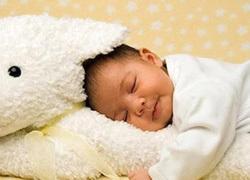 Trẻ ngủ hay giật mình