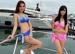 Triển lãm du thuyền hạng sang ở Hong Kong