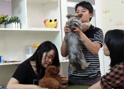 Cà phê ôm chó ở Sài Gòn