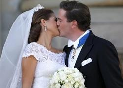 Công chúa Thụy Điển bị chụp trộm trong kỳ trăng mật
