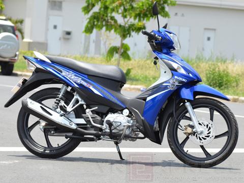 Mẫu Suzuki Viva 115 Fi có nguồn gốc xuất xứ từ Indonesia.