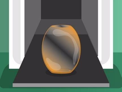 Đun nóng thủy tinh để tăng cường độ bền.