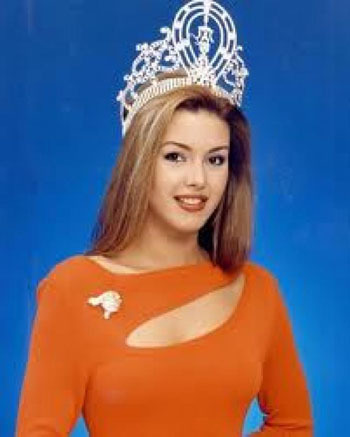 Alicia Machado, hoa hậu Hoàn vũ 1996