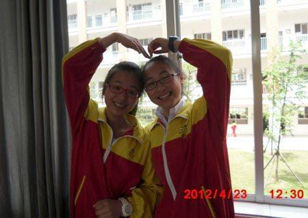 Ye Mengyuan (trái) và Wang Linjia, hai thiếu nữ Trung Quốc thiệt mạng trong vụ tai nạn máy bay Asiana tại sân bay San Francisco hôm 6/7. Ảnh: Wantchinatimes