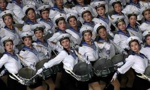 120.000 người Triều Tiên đồng diễn lớn nhất thế giới
