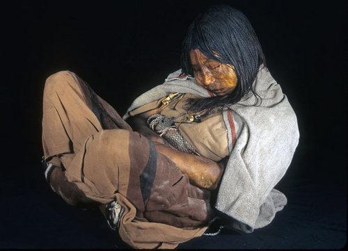 Xác ướp người Inca       Ảnh: Johan Reinhard