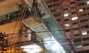 Nam thanh niên tử vong vì rơi từ tầng 3 chung cư