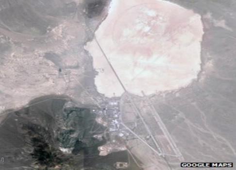 Khu vực 51 nhìn từ trên cao.    Ảnh: Google maps