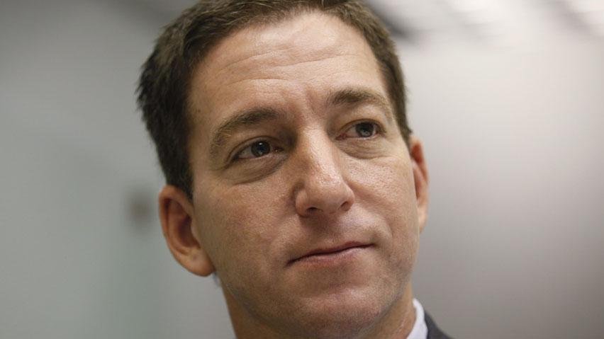 Greenwald, phóng viên tiết lộ chương trình theo dõi của Mỹ trên tờ Guardian. Ảnh: Reuters