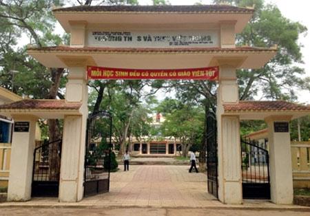 THCS và THPT Việt Trung.