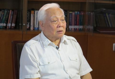 Giáo sư Viện sĩ Nguyễn Văn Hiệu. Ảnh: N.P.