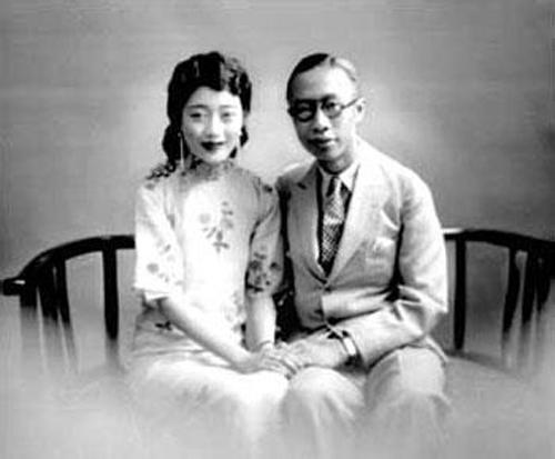 Hoàng đế Phổ Nghi và Hoàng hậu cuối cùng Uyển Dung.jpg