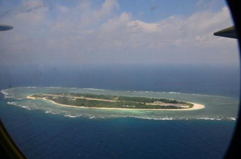 Đảo Ba Bình, rộng 0,49 km2, thuộc quần đảo Trường Sa của Việt Nam. Ảnh: Wantchinatimes