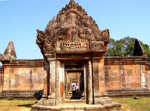 ĐềnPreah Vihear.Ảnh:Nguyễn Hoàn