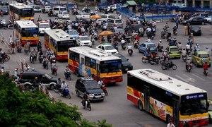 Đề xuất tăng giá vé xe buýt Hà Nội