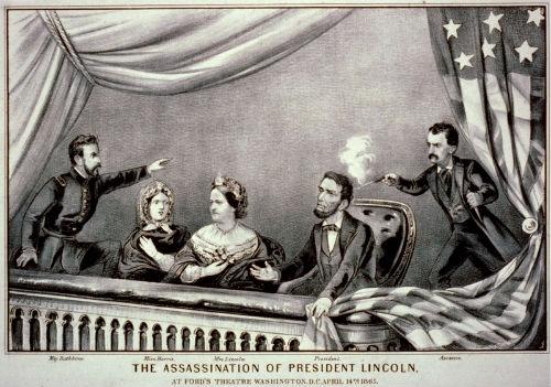 Hình ảnh minh họa vụ ám sát tổng thống Lincoln. Ảnh: Wikipedia.