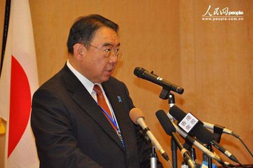 Ông Masato Kitera, Đại sứ Nhật Bản tại Trung Quốc. Ảnh: People.cn
