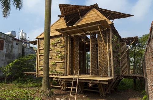Ngôi nhà được thiết kế cho người sống ở vùng thiên tai