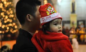 Hàng triệu người đón Giáng sinh an lành