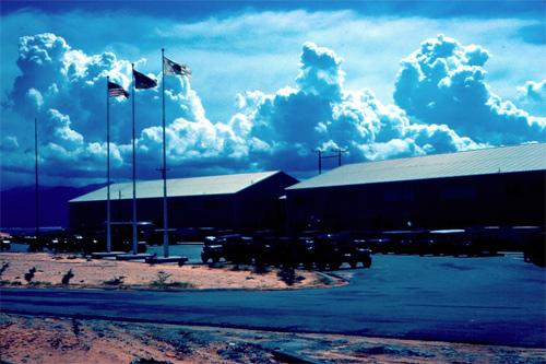Cam Ranh Bay base HQ 1969