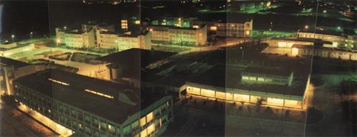 Khu PMTO về đêm.  trạm đảm bảo kỹ thuật hậu cần với tên gọi PMTO 922 Năm 1991. Khu PMTO về đêm.