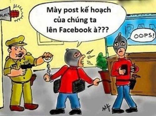 Ảnh chế về dân nghiện Facebook (phần 1) - VnExpress