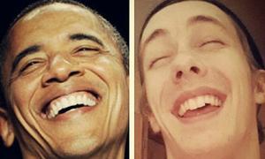 Chàng trai gây sốt vì bắt chước các tổng thống Mỹ