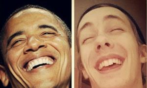 Chàng trai bắt chước giống hệt các tổng thống Mỹ