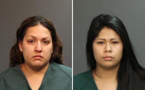 Hai nghi phạm đánh chết Kim Pham:Vanesa Tapia Zavala (trái)và Candace Marie Brito. Ảnh:Santa Ana Police Department