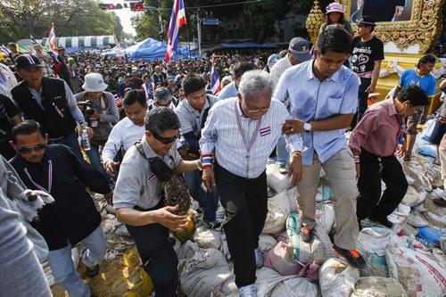 Thủ lĩnh biểu tìnhSuthep Thaugsuban