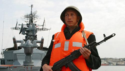 Nga đangtăng cường an ninh ở các căn cứ hải quân tạinam Ukraine. Ảnh minh họa: RIA Novosti