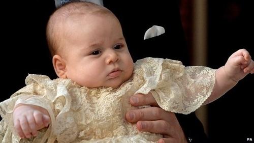 Hoàng tử bé George sẽ có chuyến đi công du đầu tiên của mình vào tháng 4. Ảnh: PA.