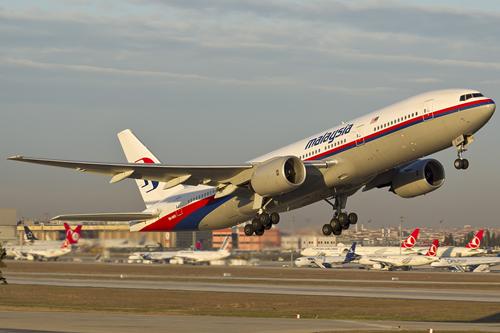 máy bay Boeing 777-200 của Malaysia Airlines. Ảnh: wikimedia.org.