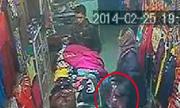 Bà già 'siêu trộm' trong shop Hà Nội