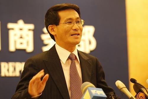 Ông Thẩm Đan Dương, người phát ngôn Bộ Thương mại Trung Quốc. Ảnh: china.org.cn,