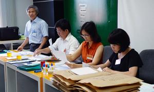 Thủ tục đăng ký vào những trường không tổ chức thi