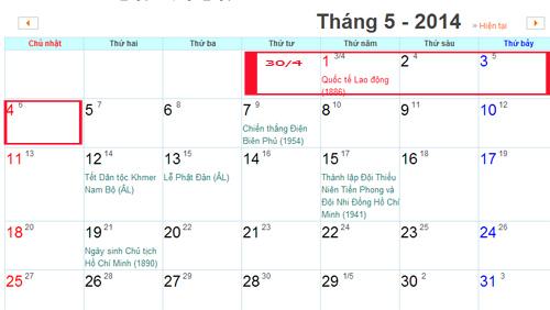 Cán bộ công chức, viên chức trên cả nước sẽ được nghỉ 5 ngày trong dịp lễ Quốc Khánh và Quốc tế Lao động.
