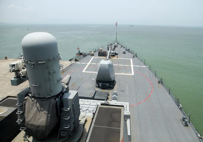 Sức mạnh tàu tên lửa của Hạm đội 7 Mỹ