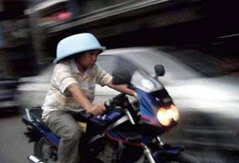 Mũ bảo hiểm dành riêng cho xe phân khối lớn.