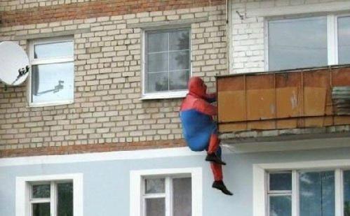 Người nhện phiên bản béo ị.