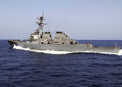 Tàu USS Donald Cook. Ảnh:Wikipedia.