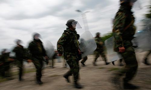 NATO bắt đầu tập trận lớn ở Estonia. Ảnh minh họa: Reuters.