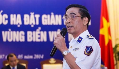 ông Ngô Ngọc Thu, Phó Tư lệnh Tham Mưu trưởng Cảnh sát biển,