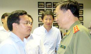 Thứ trưởng Tô Lâm: 'Bộ Công an đảm bảo an ninh ở Bình Dương'