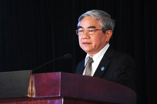 Bộ trưởng Nguyễn Quân cho rằng không nên coi nhự nghiên cứu cơ bản vì đây là lĩnh vực thúc đẩy khoa học ứng dụng. Ảnh: Quý Đoàn.