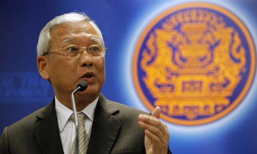 Quyền Thủ tướng Thái Lan Niwatthamrong Boonsongphaisan. Ảnh: Reuters.