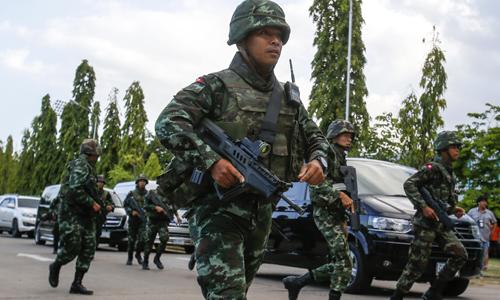 Quân đội Thái Lan triển khai binh sĩ sau khi tướng Chan