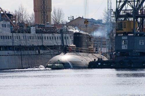 Một tàu ngầm Kilo 636. Ảnh: Oko-planet.