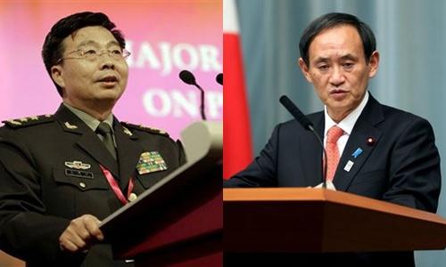 Trung tướng Vương Quán Trung, Chánh văn phòng Nội các Nhật Yoshihide Suga